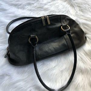 HOBO Black Leather Shoulder Bag Dome Purse